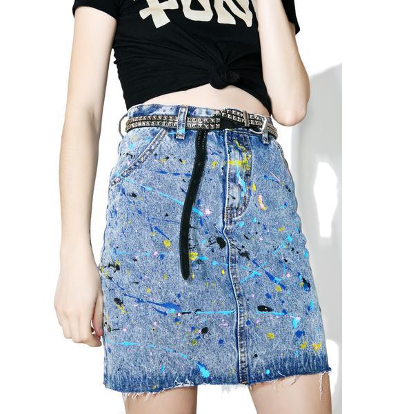 Glamorous Pollock Denim Skirt