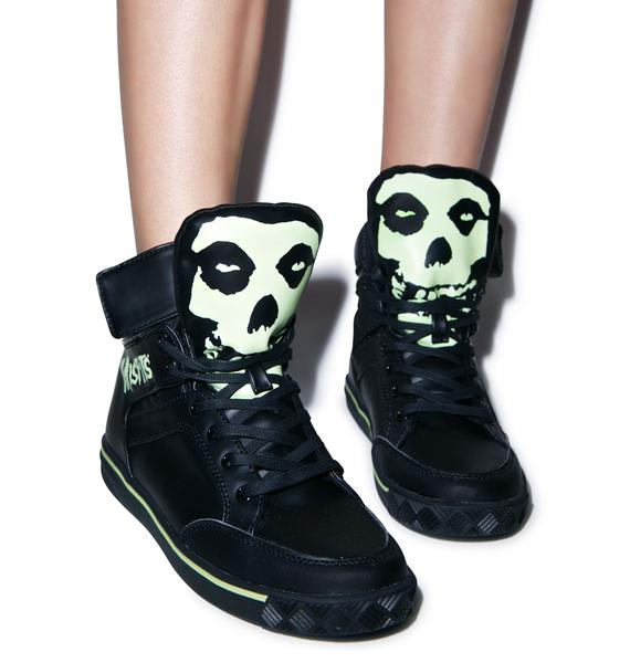 Iron Fist Misfits Glow In The Dark Sneaker