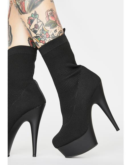 Clout Alert Sock Boots