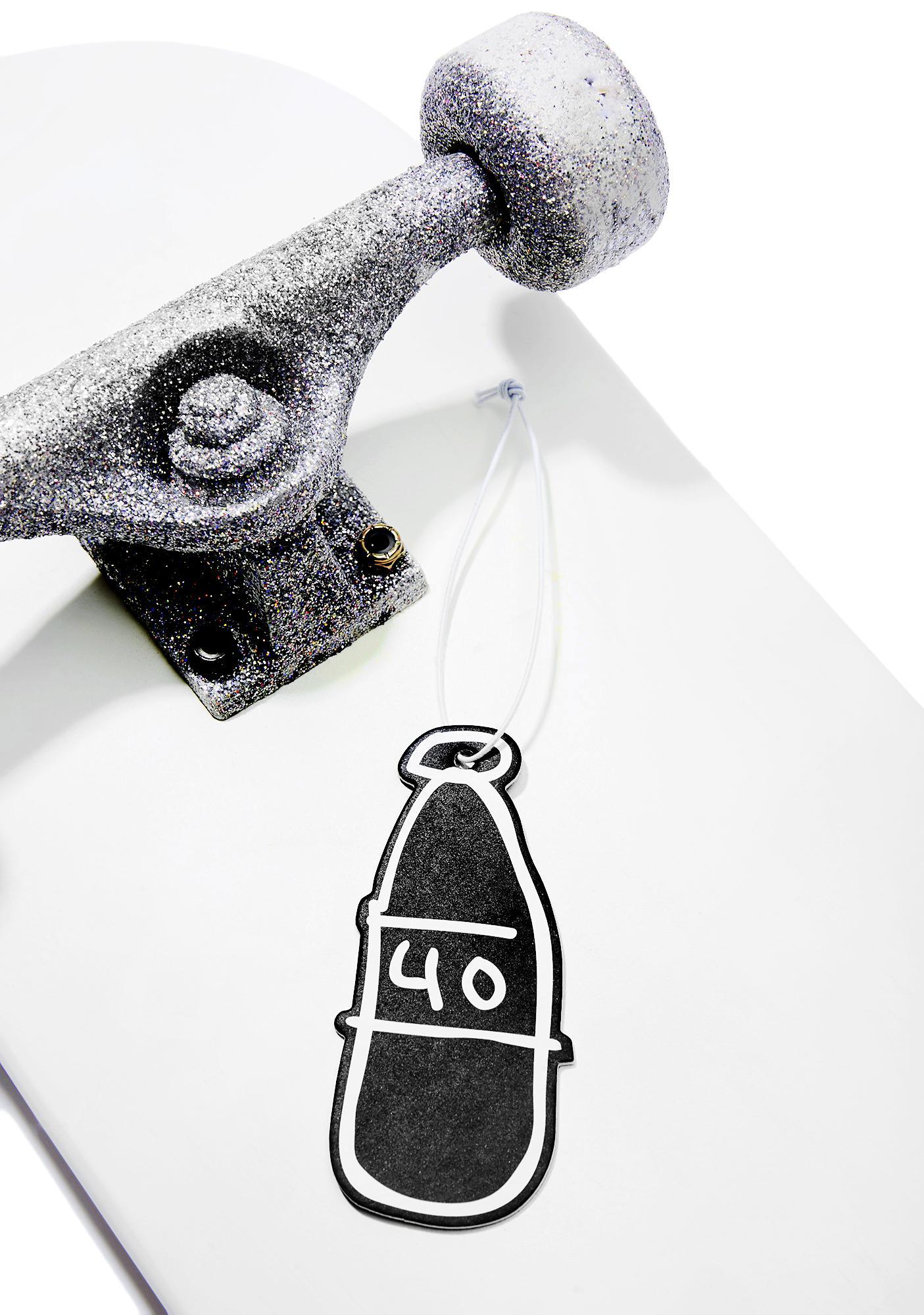 40s & Shorties Scribble Bottle Air Freshener