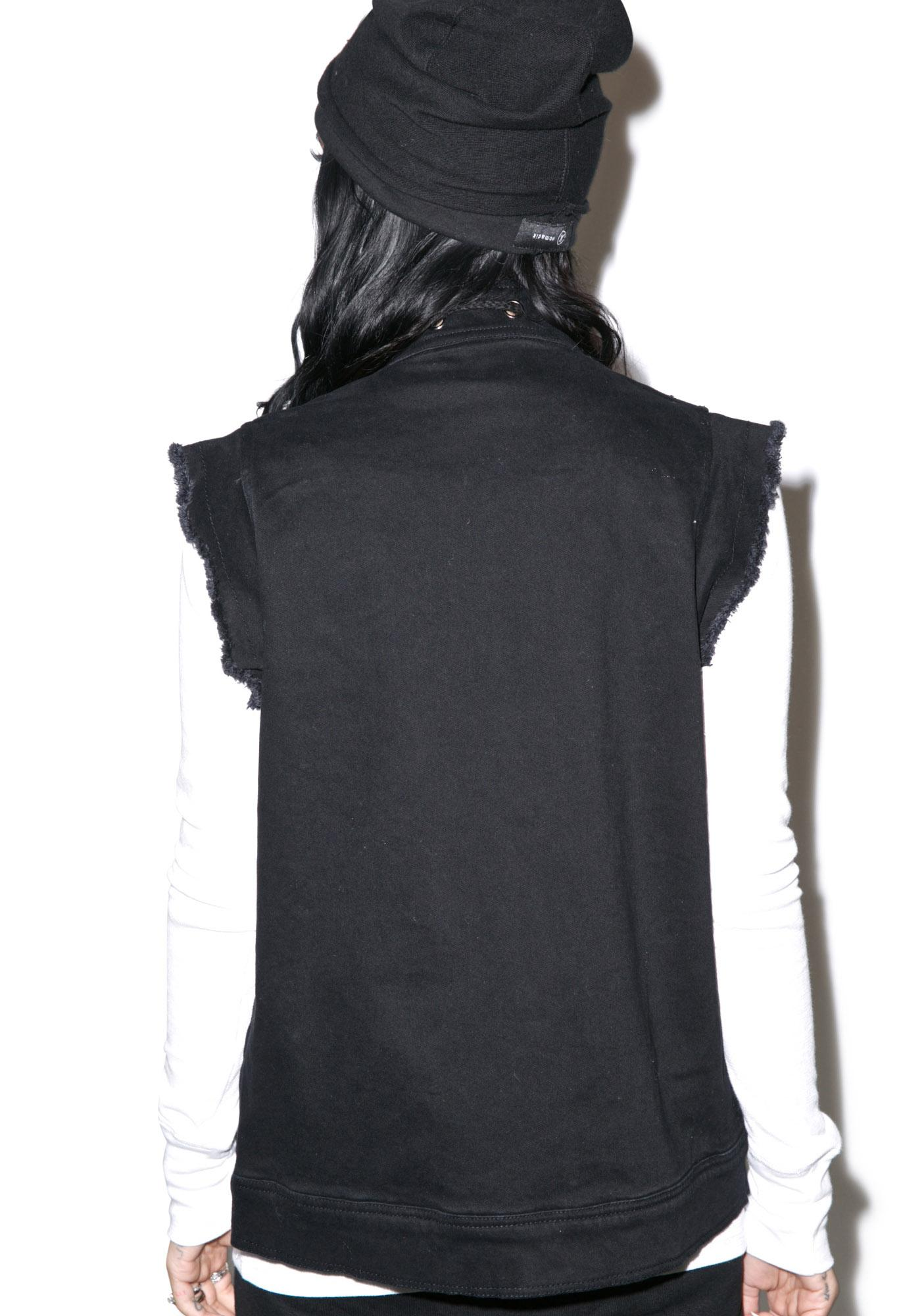 Nightwalker Hog Wylde Biker Vest