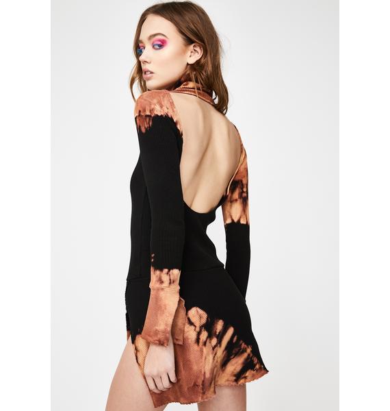 Kiki Riki Pretty N' Petty Bleached Dress