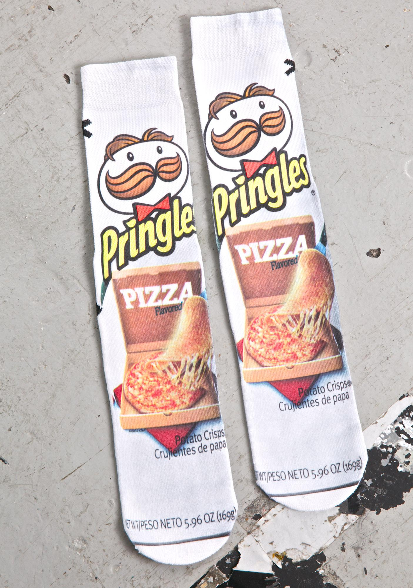 Odd Sox Pizza Pringles Socks