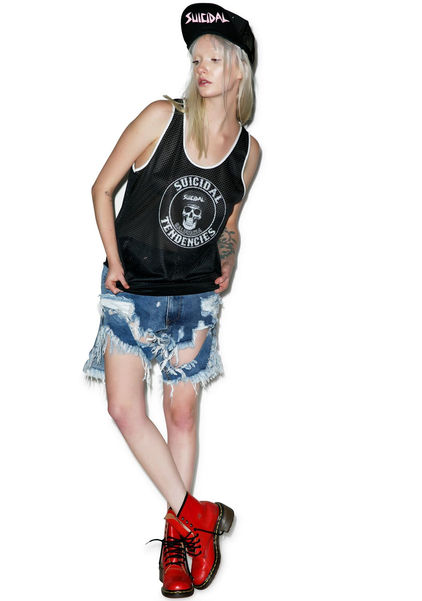 Suicidal Tendencies Athletic Jersey Tank