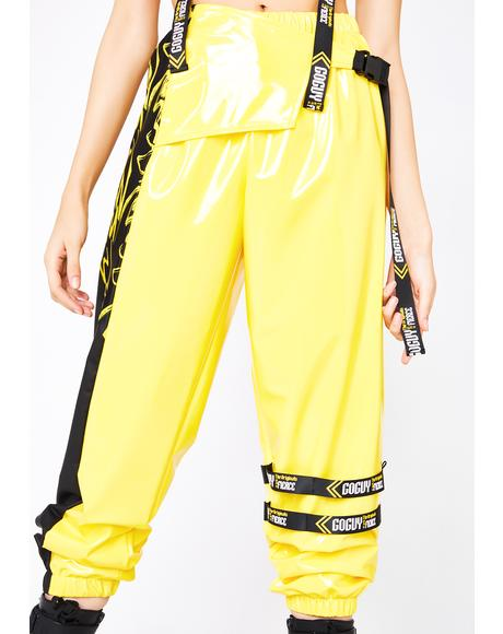 Fierce Motocross Yellow Pants