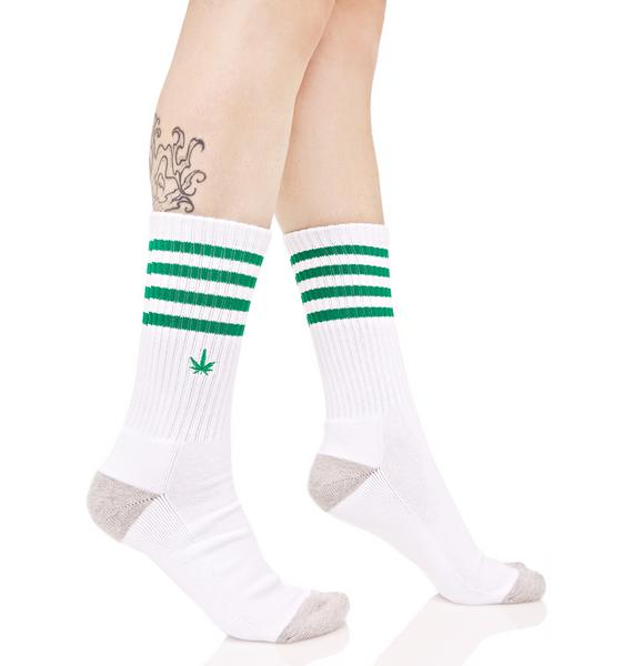 HUF Traction 420 Crew Sock