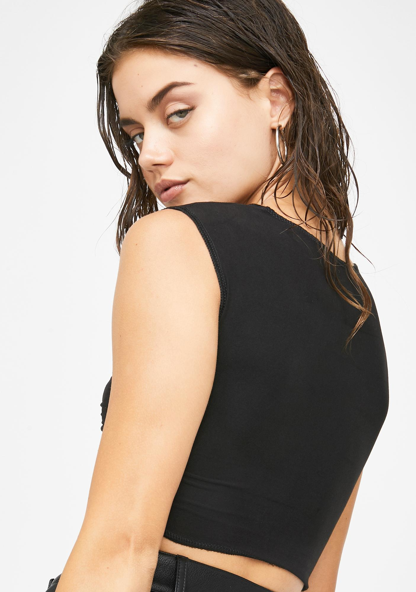 Riccetti Clothing Tied Up Crop Top