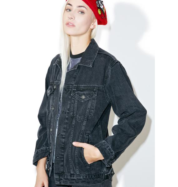 The Ragged Priest Skin Denim Jacket