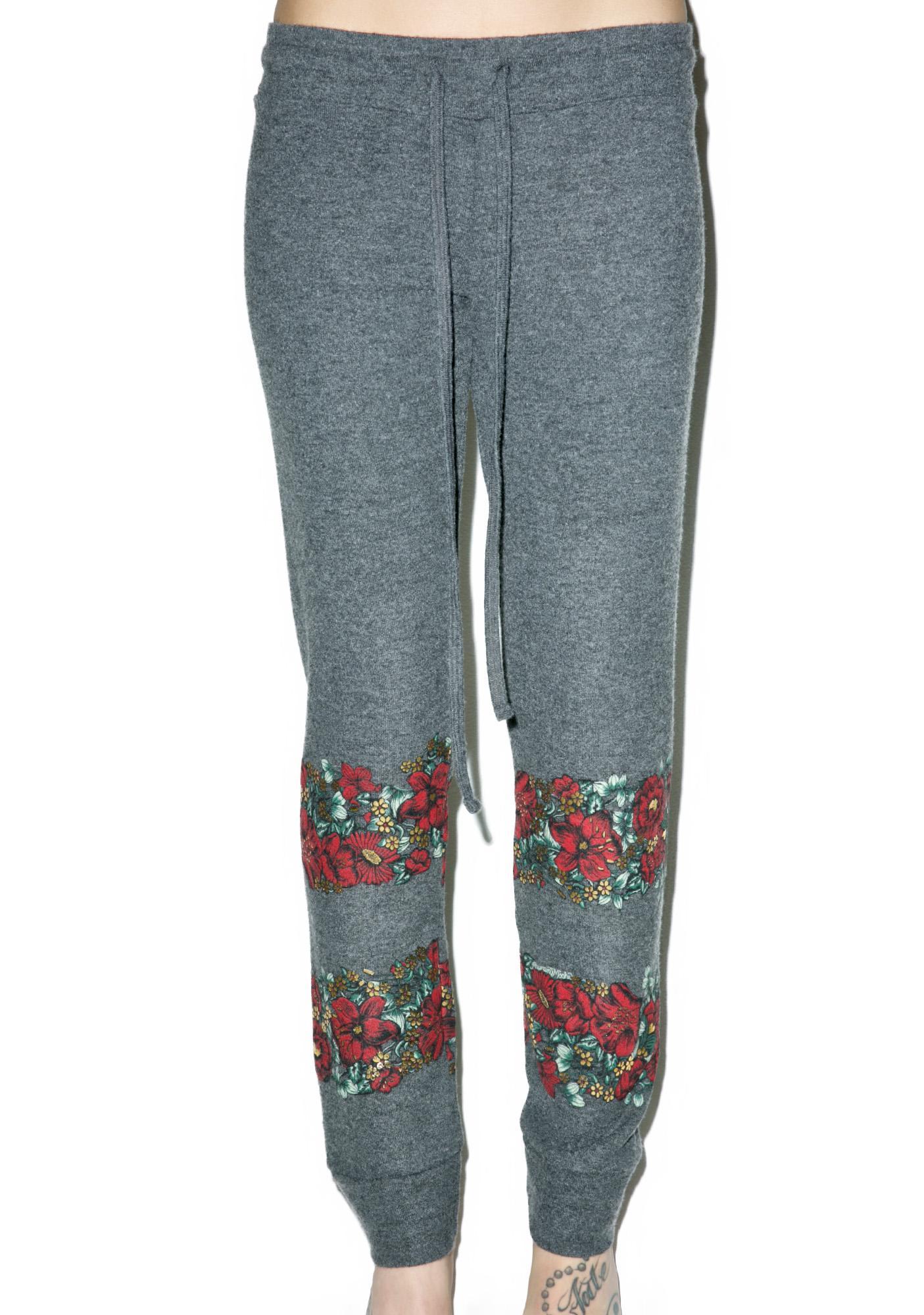 Lauren Moshi Floral Kizzy Sweatpant