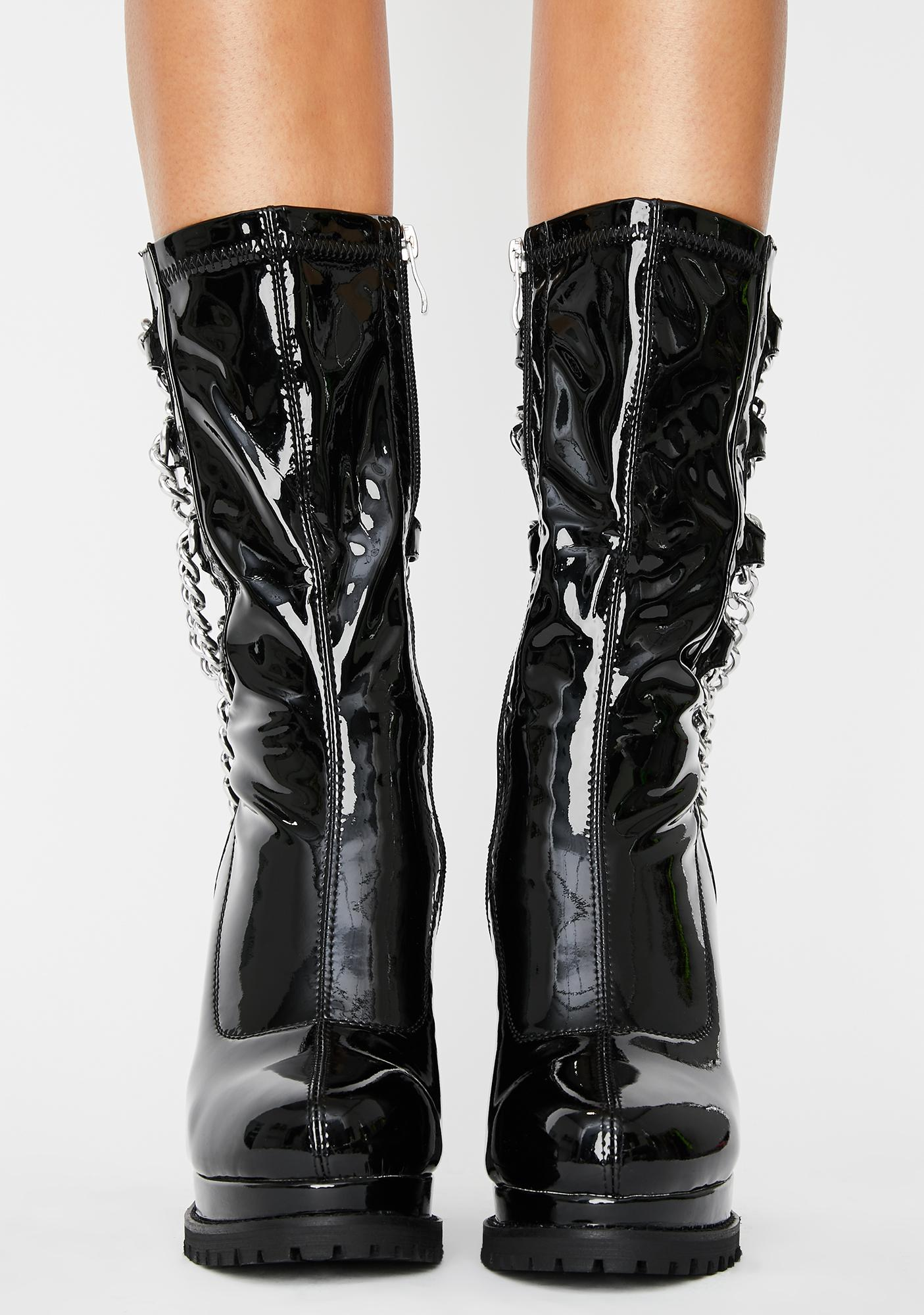 AZALEA WANG Liverpool Chain Boots