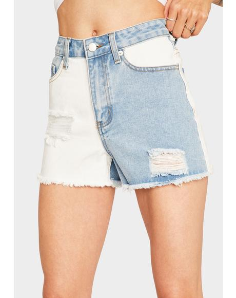 Mysterious Feeling Cutoff Shorts