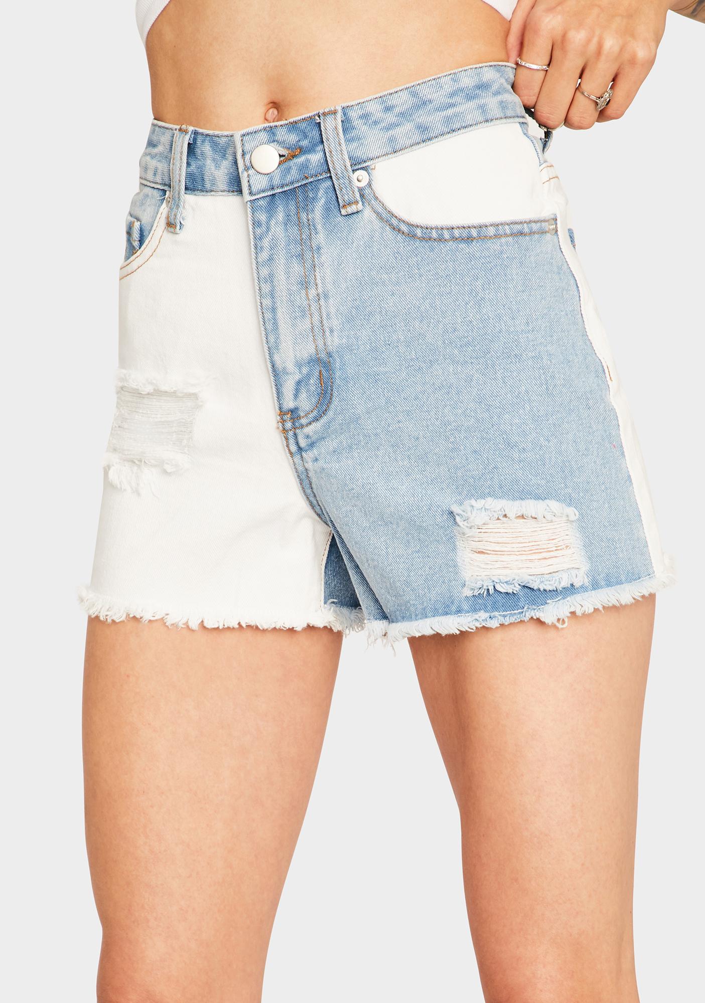 Mysterious Feeling Cutoff Shorts
