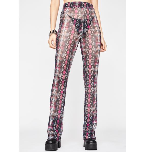 Poisonous Potential Sheer Pants