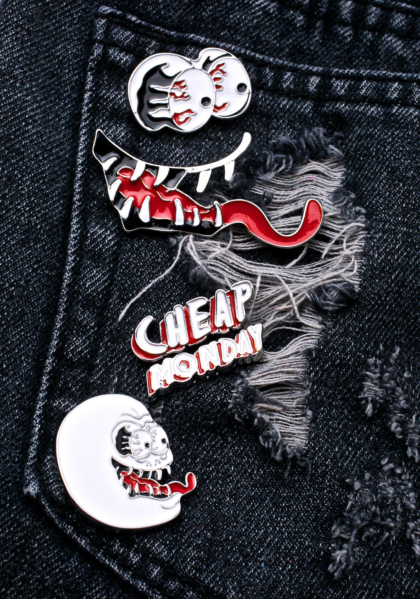 Cheap Monday Shocked Badges