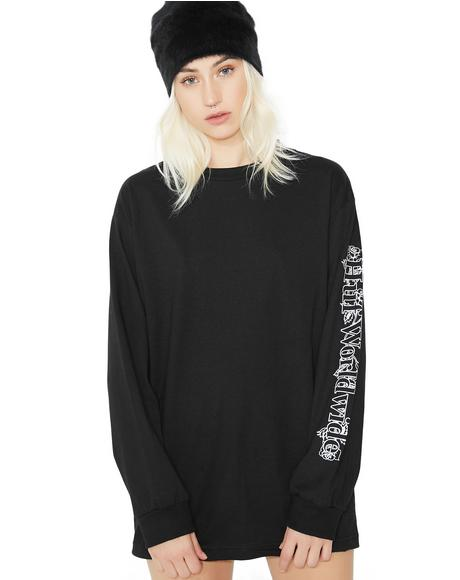 Ambush Rose Long Sleeve Tee