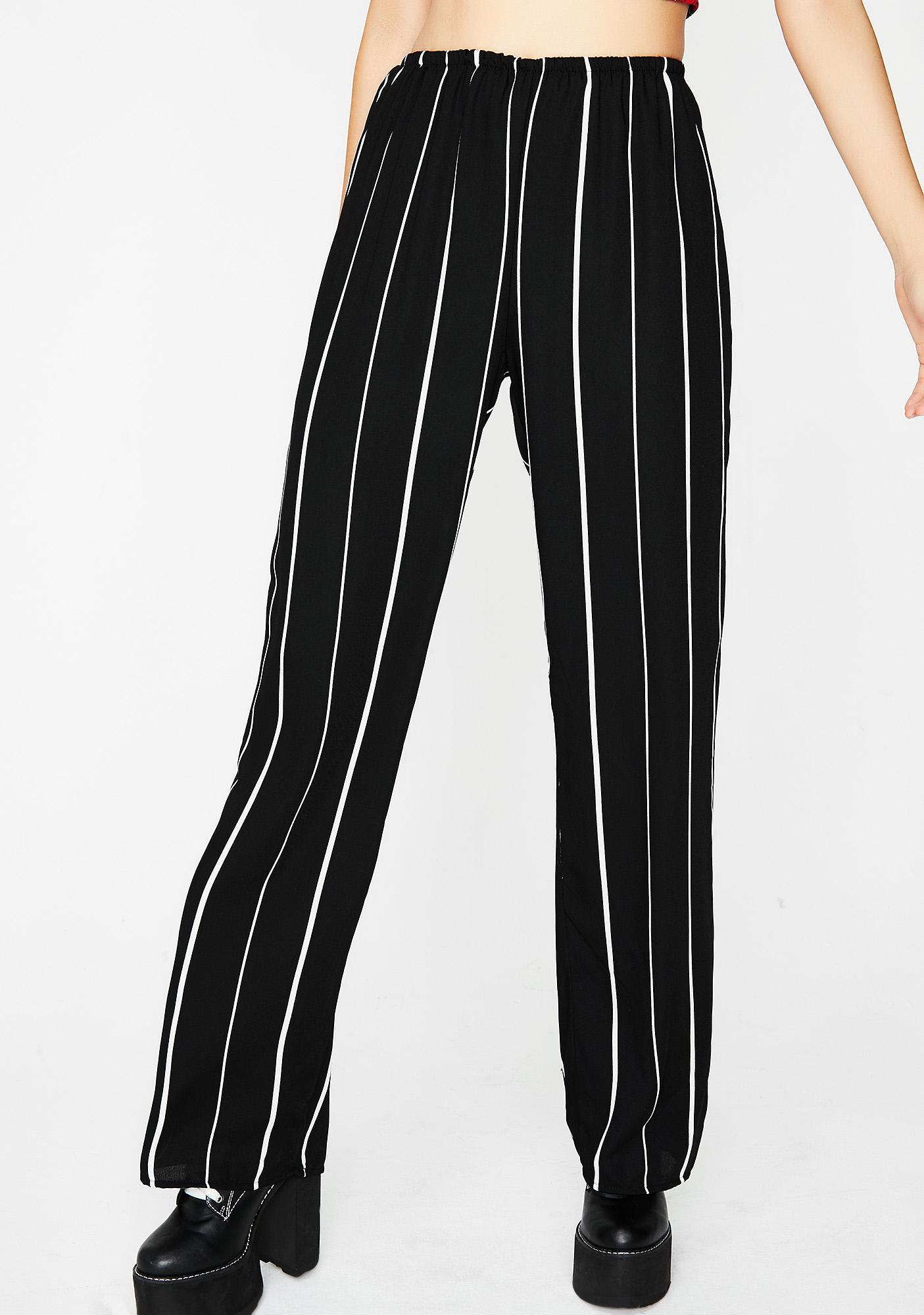 Never Quit Striped Pants