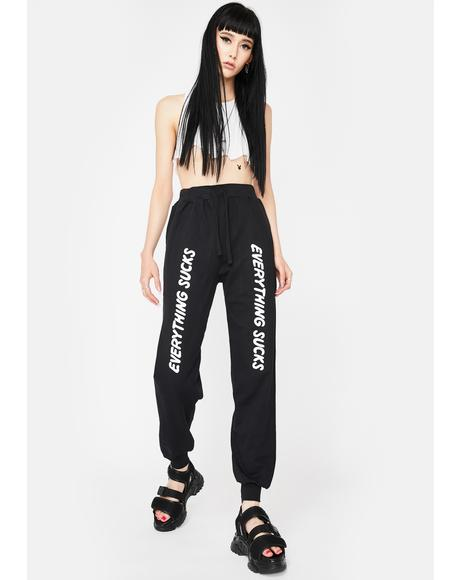 Everything Sucks Jogger Sweatpants