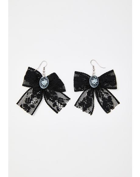 Misty Desire Lace Earrings