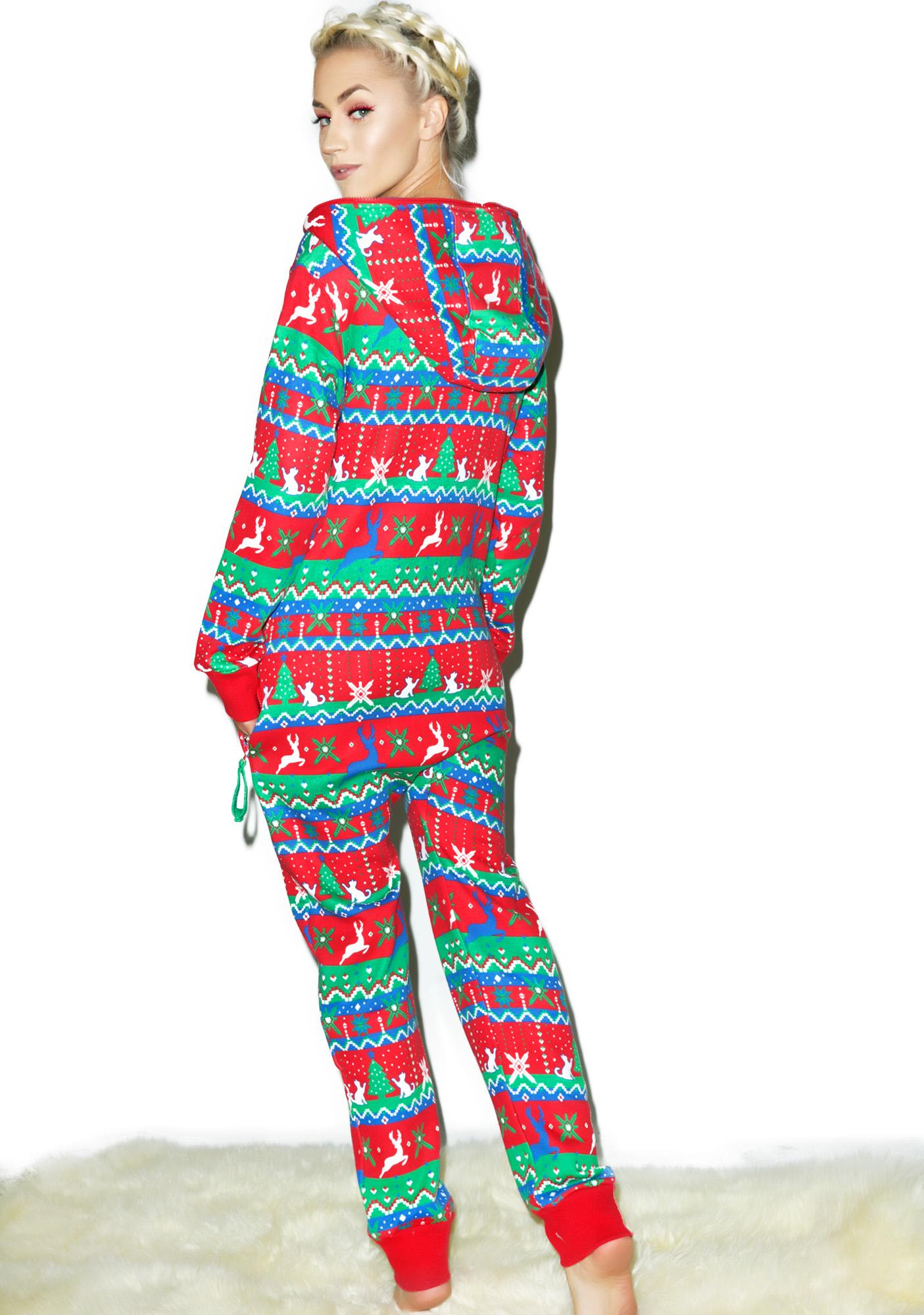 Tipsy Elves Christmas Present Jumpsuit