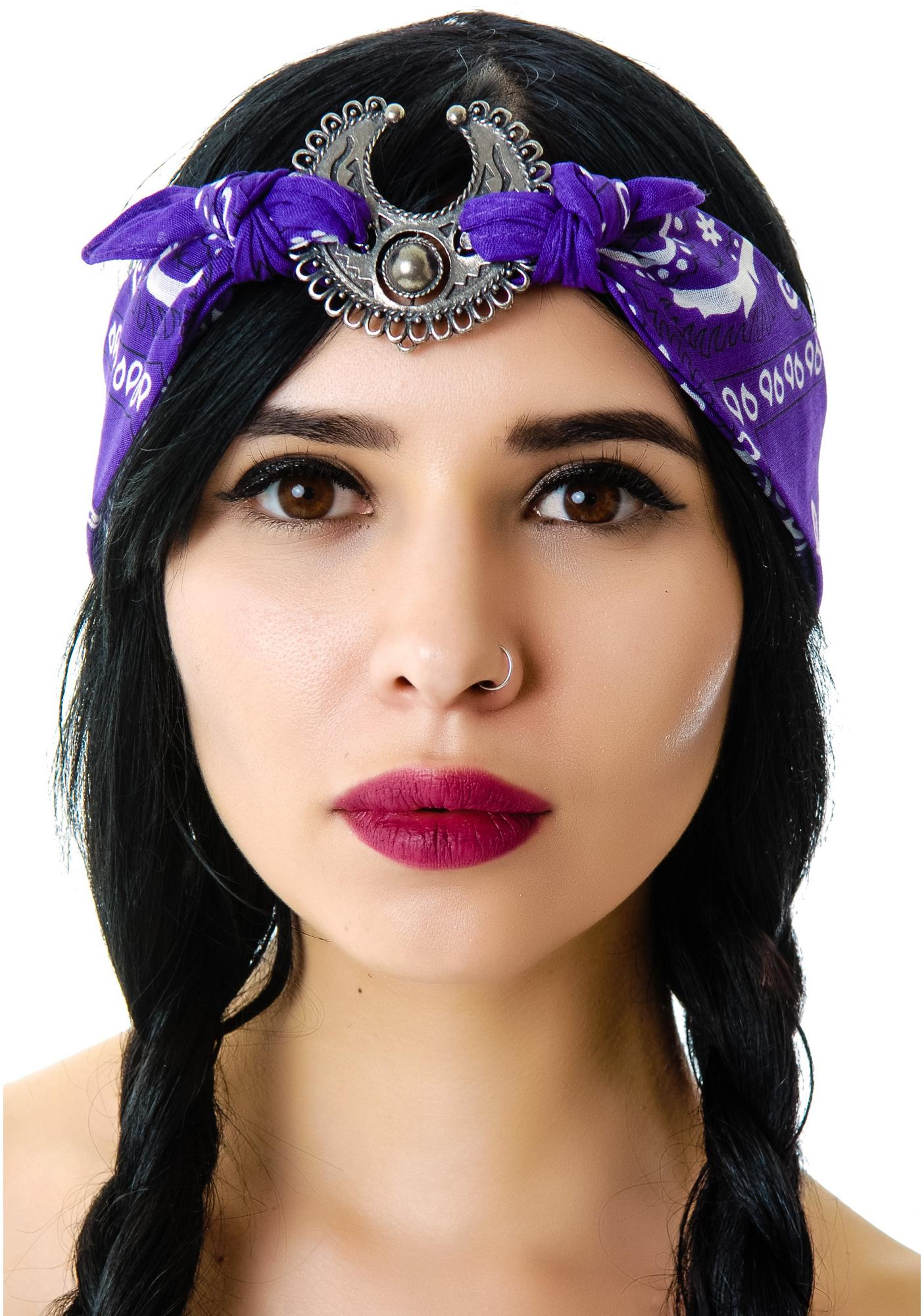 Vanessa Mooney Mercutio Scarf Headpiece