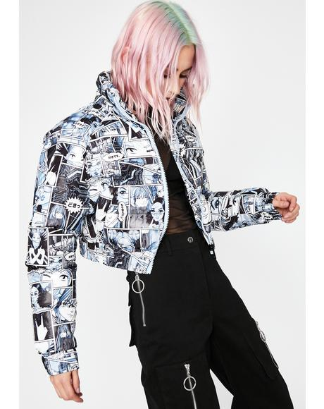 Misfit Memoirs Puffer Jacket