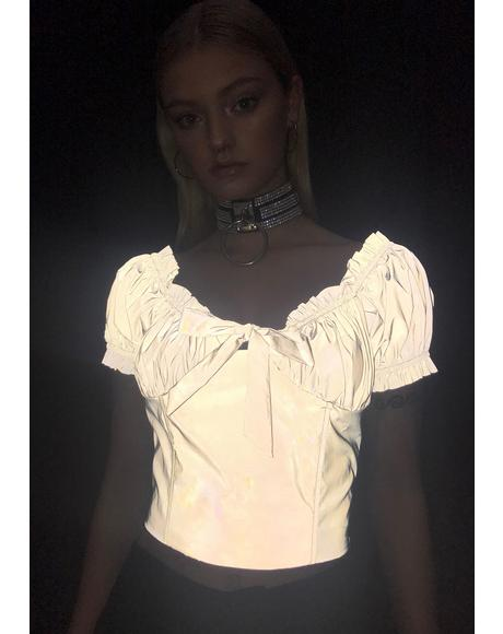 Glowaholic Reflective Top