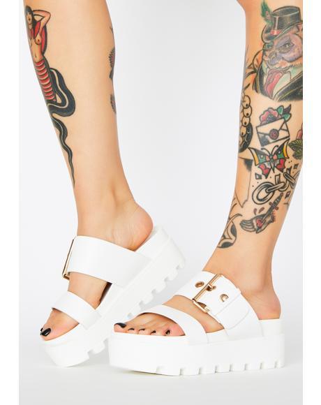 Settle Down Platform Sandals