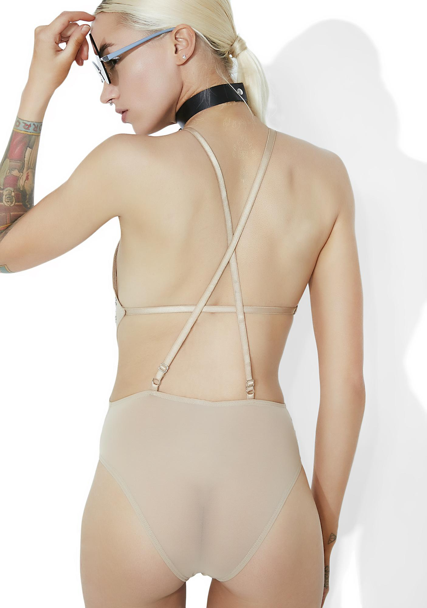 Crystalline Dreamz Sheer Bodysuit