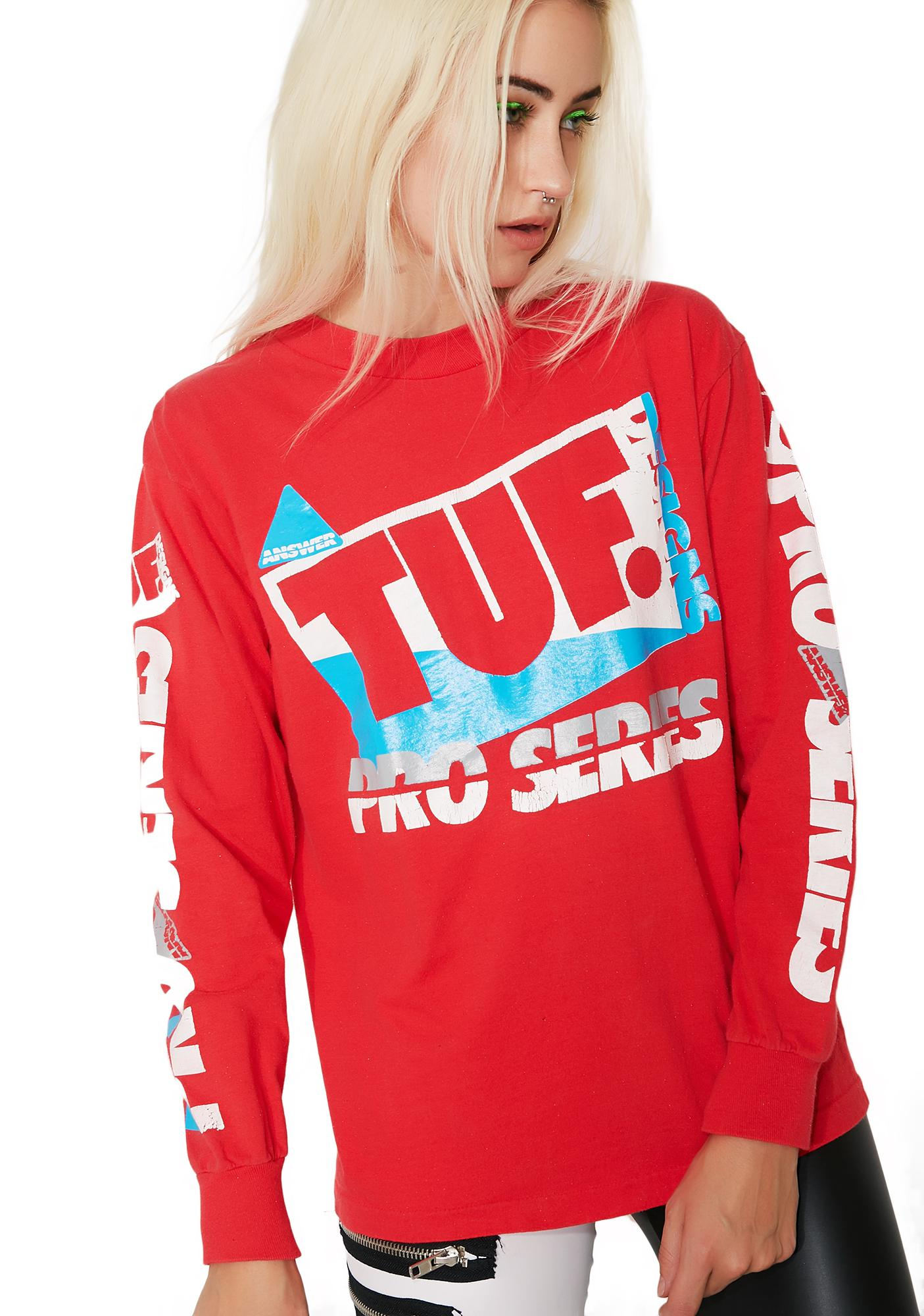 Vintage TUF Long Sleeve Tee