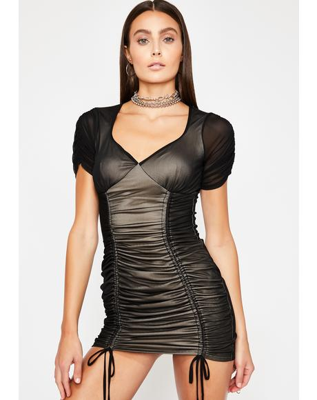 Fierce Flirt Mini Dress