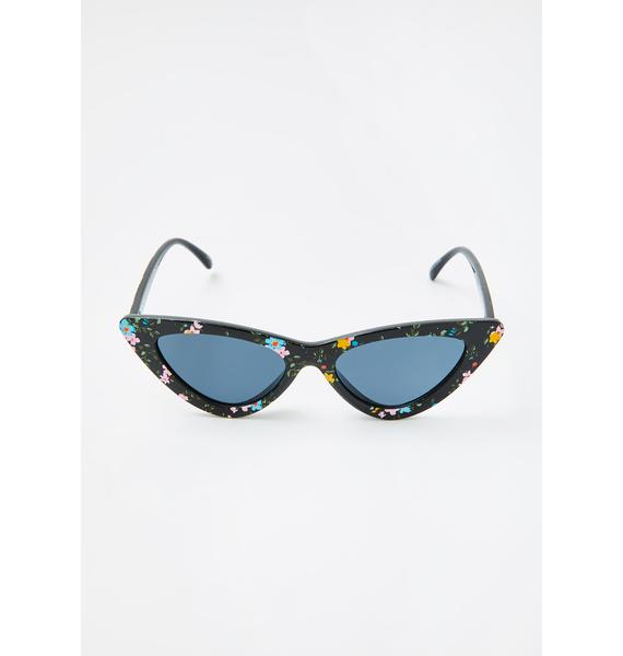 Fab Attitude Cat Eye Sunglasses