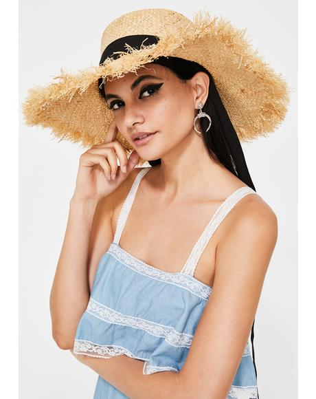 Island Gal Straw Hat