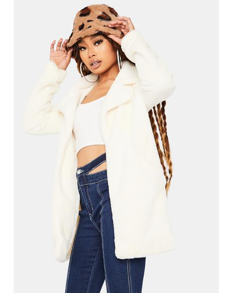 Seen Canoodling Faux Fur Jacket