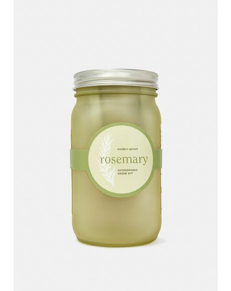 Rosemary Garden Jar