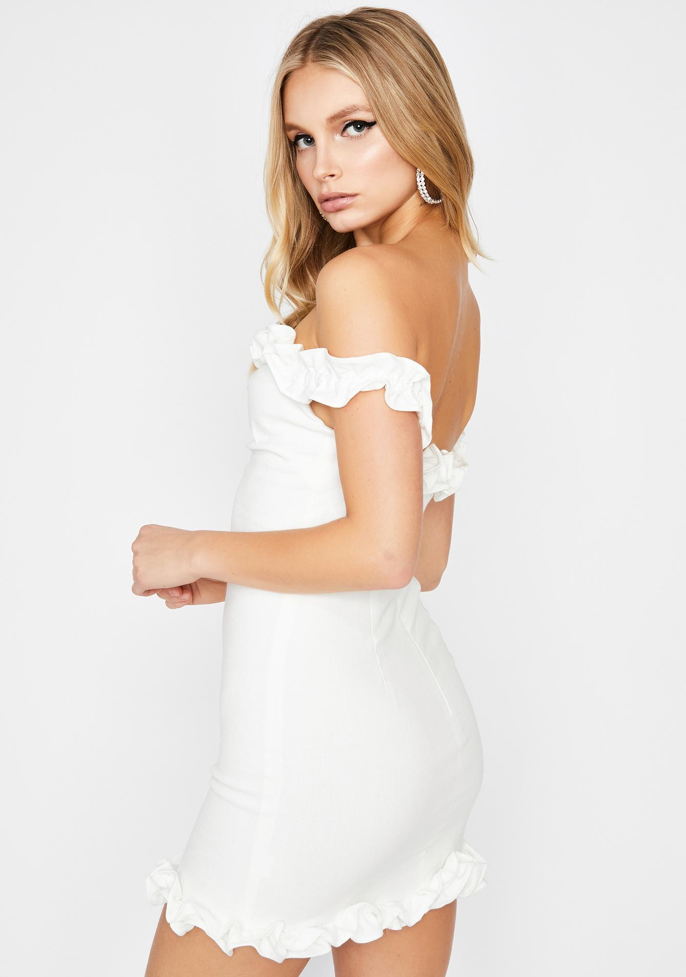 Truth Is Off The Shoulder Dress
