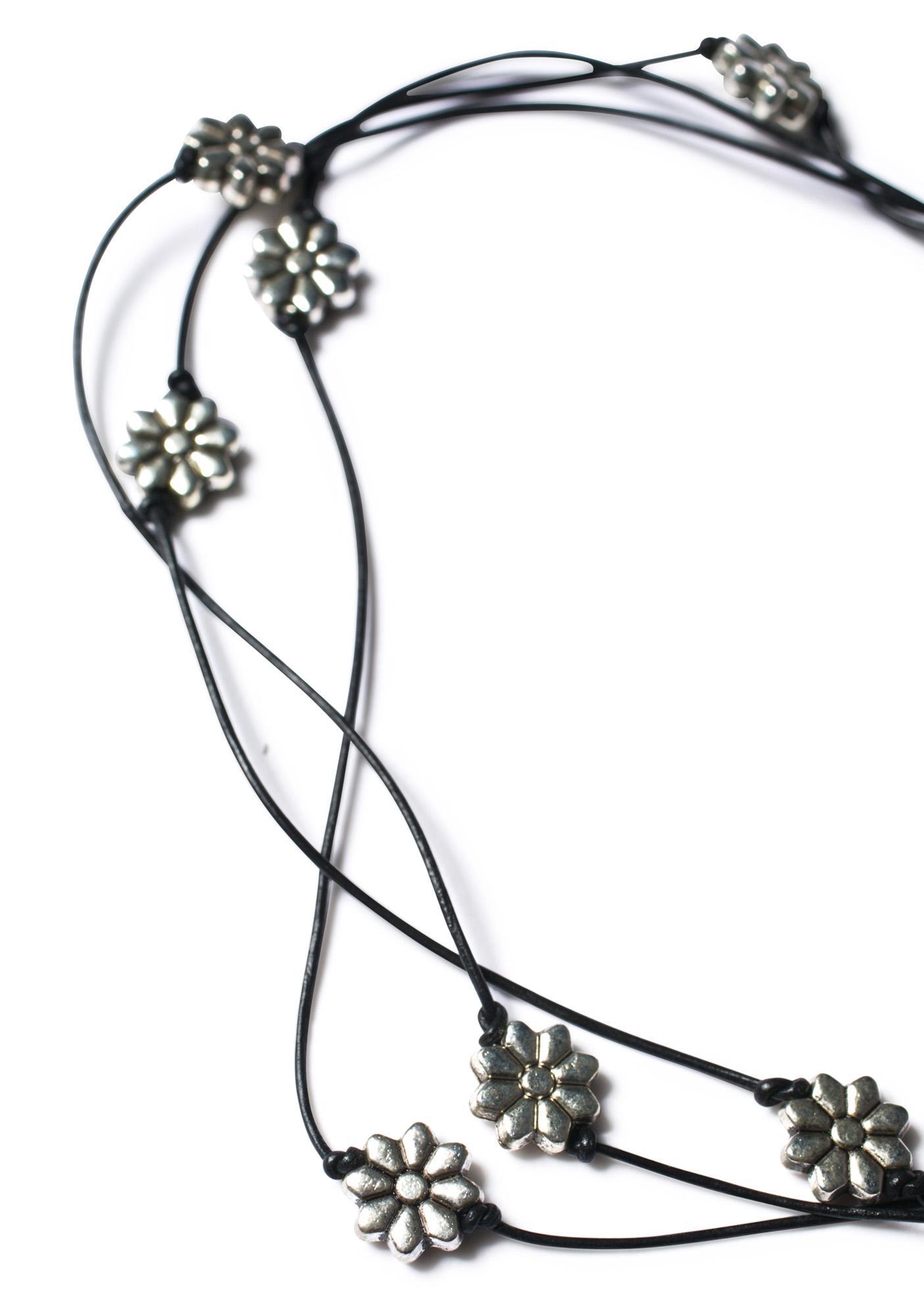 Fraiser Sterling Desert Flower Choker