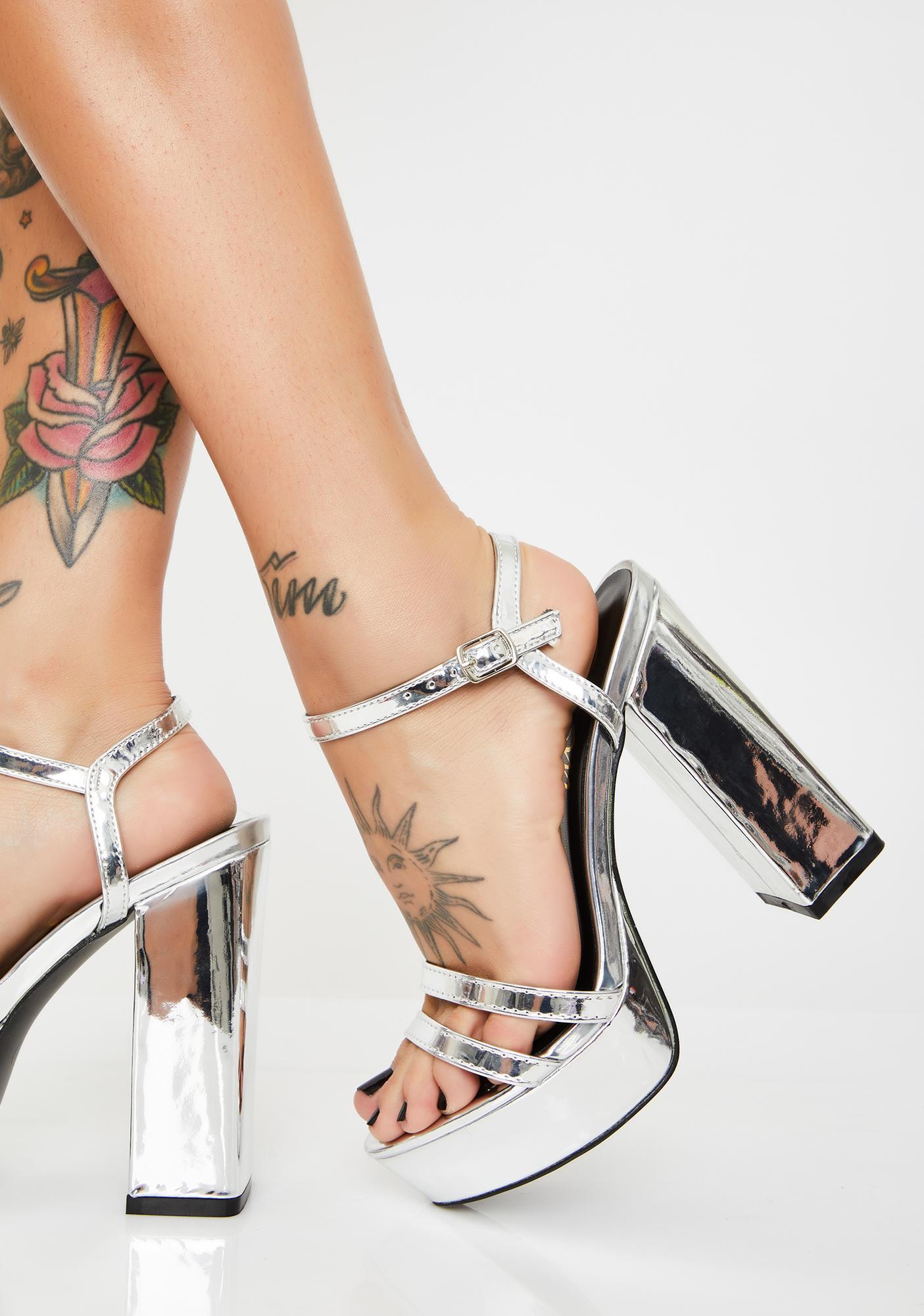 Rich Thots Platform Heels