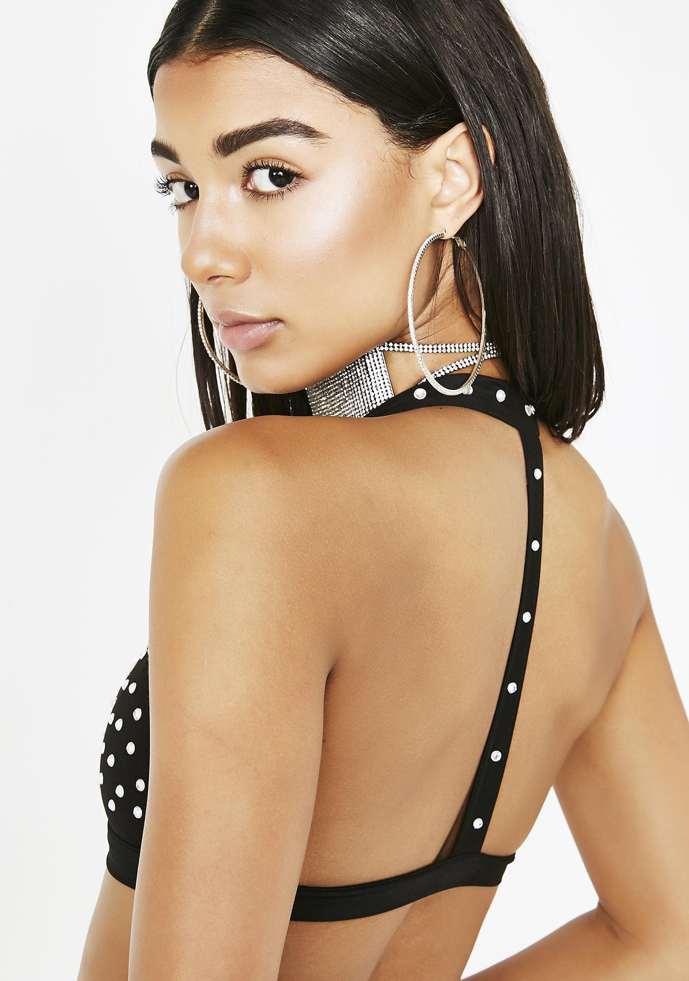 Poster Grl Diamond Fix Halter Bra