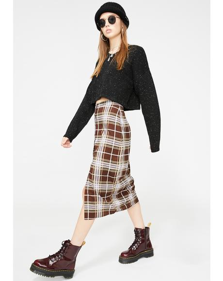 Kaisa Plaid Skirt