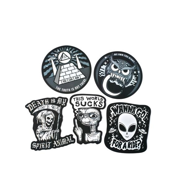 Disturbia Sticker Pack