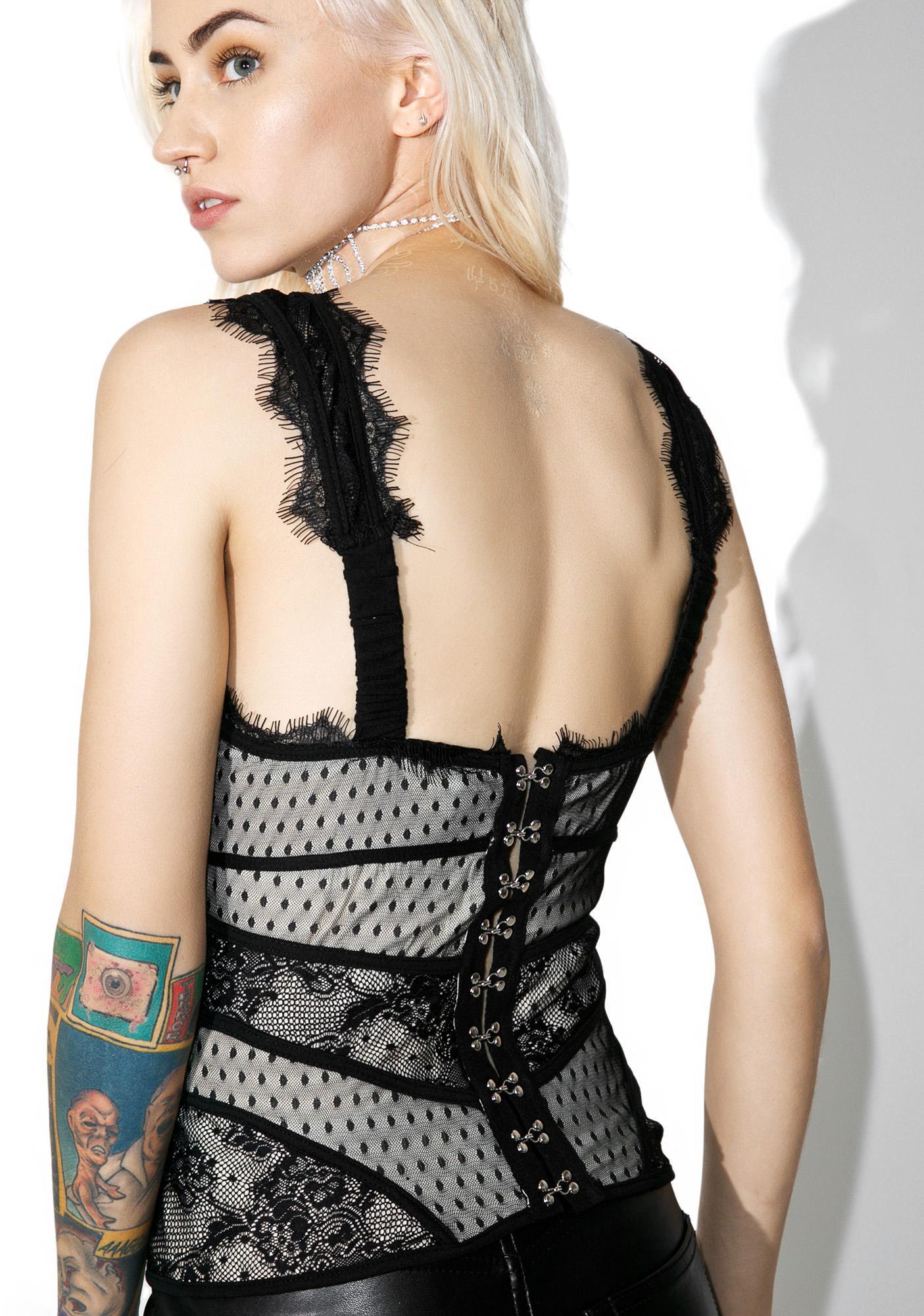 Dietrich Lace Top