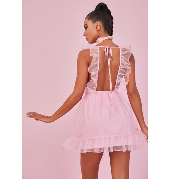 Sugar Thrillz Can't Help Falling Pinafore Dress