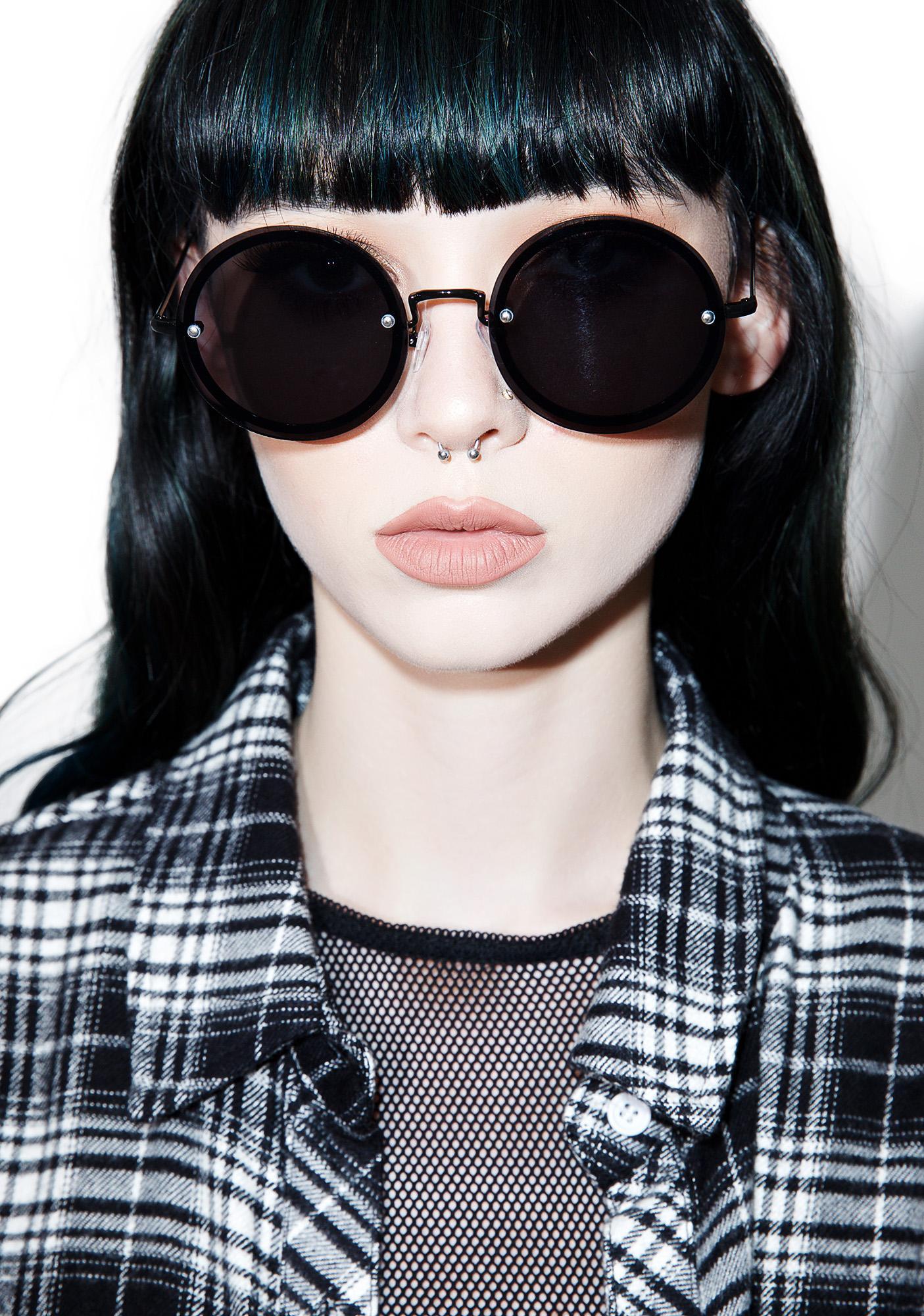Daria Circle Sunglasses
