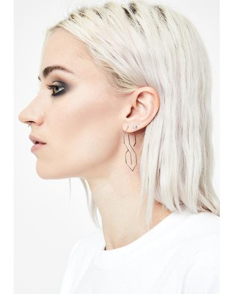 S Thing Wire Earrings