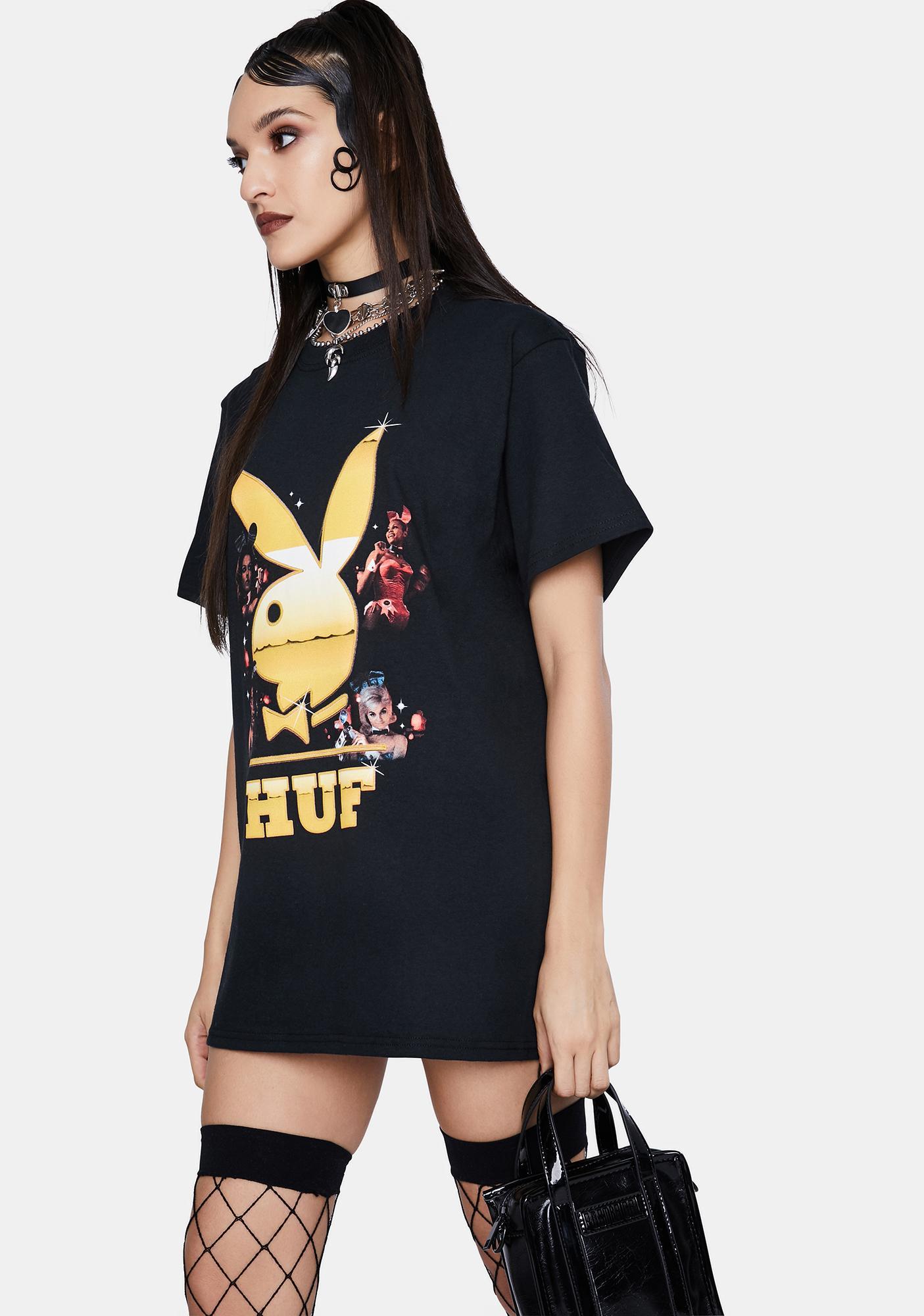 HUF x Playboy Club Tour Graphic Tee