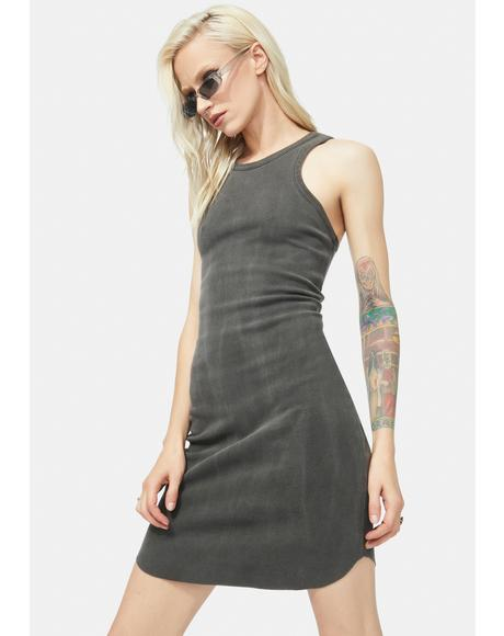 Out Of Control High Neck Tank Dress