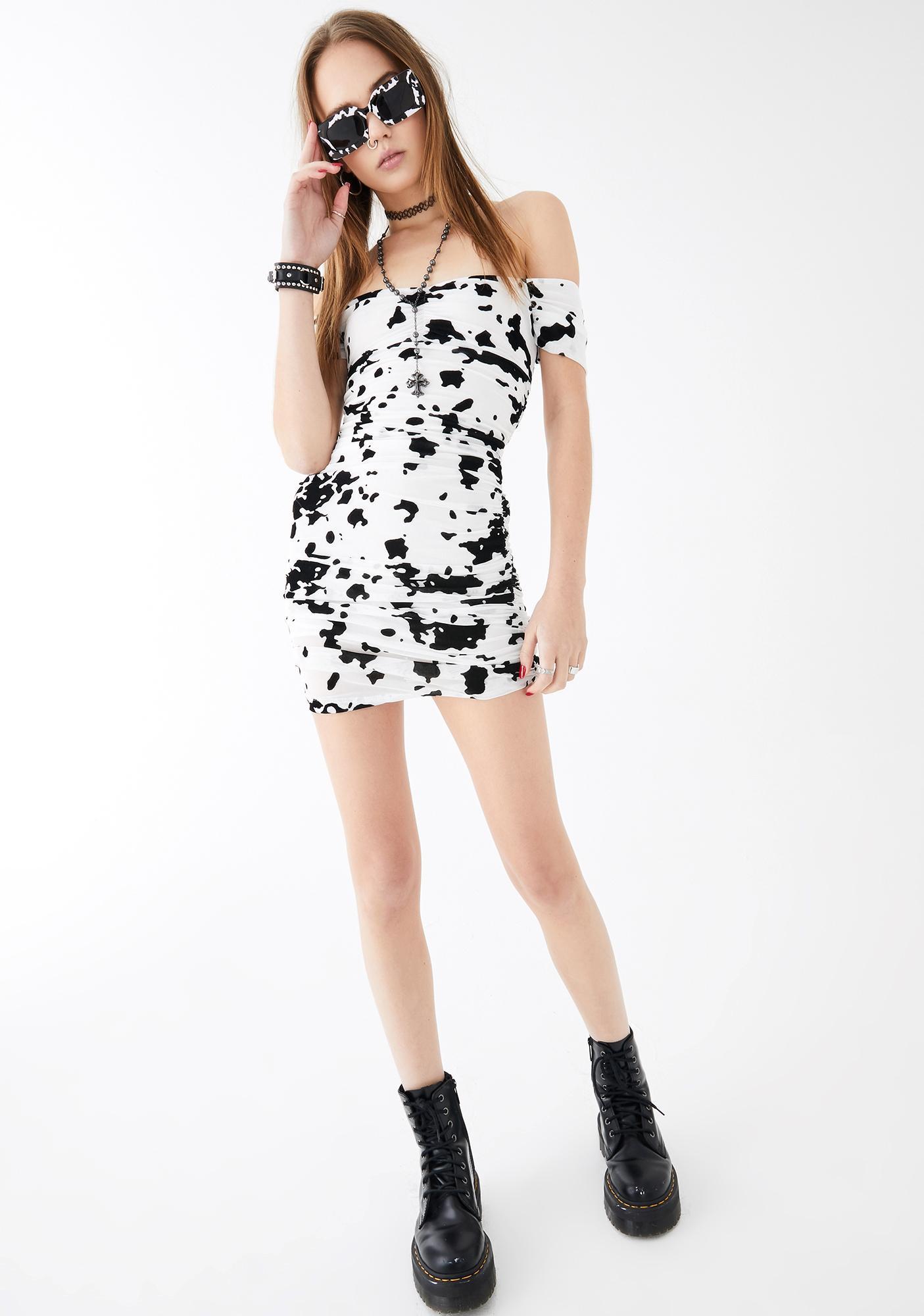 Motel Ennete Mini Dress