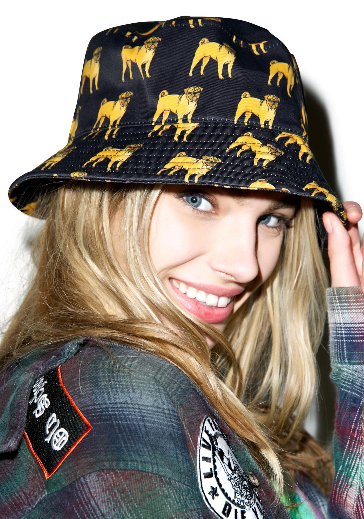 Dog LTD. Pug Bucket Hat