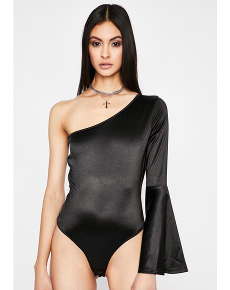 Begin To Forget One Shoulder Bodysuit
