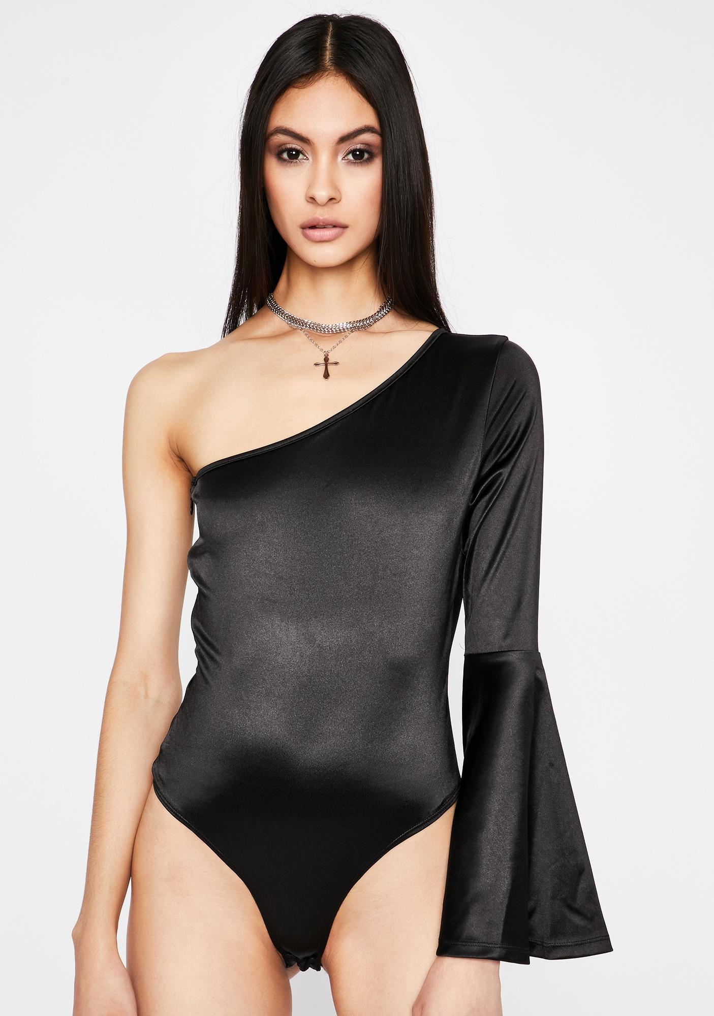 Begin To Forget One Shoulder Bodysuit
